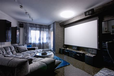 Theater Living Room | living room captivating home theater for modern living