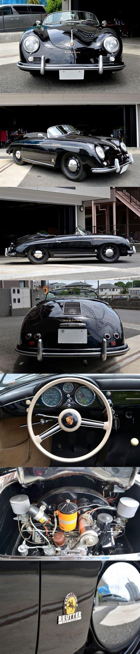 old porsche black 1955 porsche 356 speedster reutter pre a 43 000km