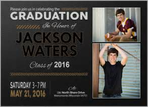 graduation announcement template 15 graduation invitation templates invitation templates