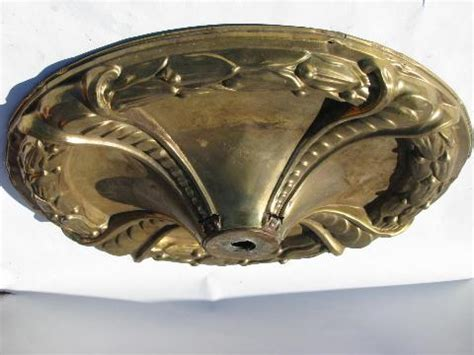 ceiling canopy for chandelier vintage brass ceiling medallion canopy for