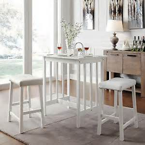 White Kitchen Set Furniture by Kitchen Table Set Furniture White Small Space Saver Stools