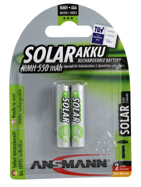 Rechargeable Batteries For Solar Powered Lights Aaa Rechargeable Batteries For Garden Solar Lights