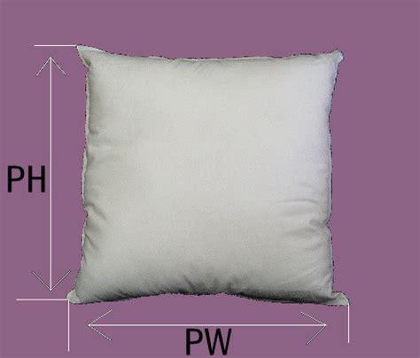 Pillow Treatment by Measurements Zw Designs Inc