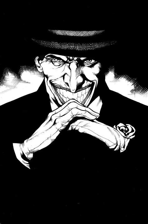 black and white joker wallpaper joker black and white by thecreatorhd on deviantart