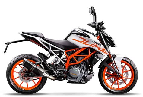 Ktm Duke Cost Ktm Duke 390 White Limited Edition Available At Unchanged