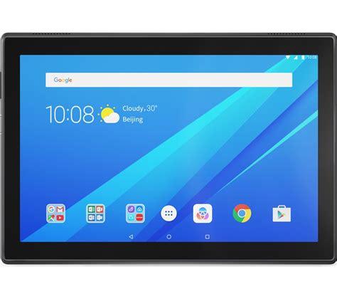 lenovo tab4 10 tablet 16 gb slate black deals pc world
