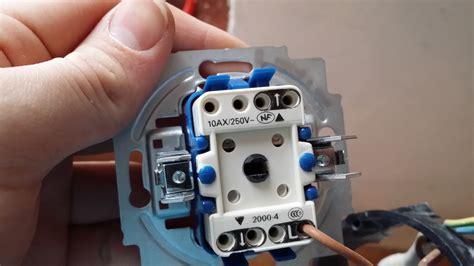 jalousie elektrisch anschlie en fantastisch elektrischen schalter anschlie 223 en galerie