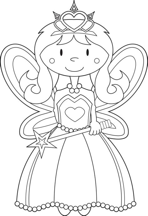 coloring pages princess coloring book page for princess fairy princess coloring