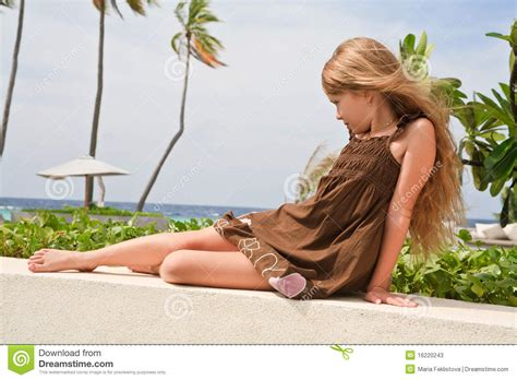 Little Girl In A Dream Stock Photos Image 16220243