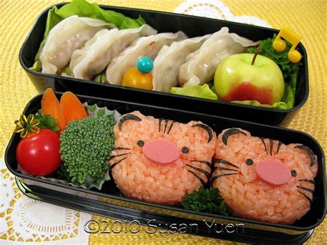 new year bento box tigers for new year bento boxes