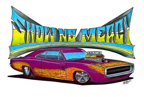 1970 dodge charger drawing 1970 dodge charger drawing by jon richards