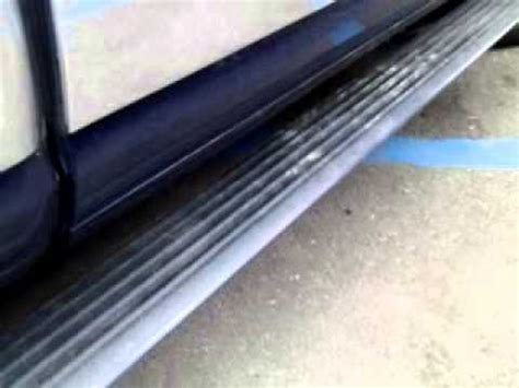 lincoln navigator running board issues youtube