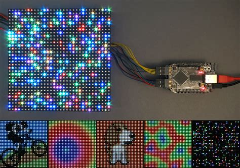 Rgb Led Panel Driver Tutorial Led Lights Projects