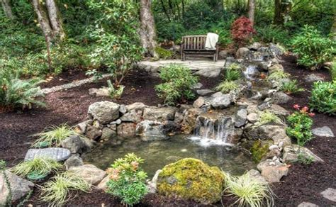 garten wasserfall bauen 885 creating a garden pond pictures and ideas for creative