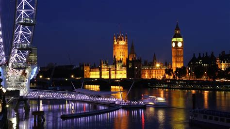 London Skyline At Night wallpapers (50 Wallpapers) – HD ...