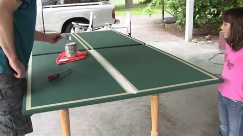 diy ping pong table legs ping pong table
