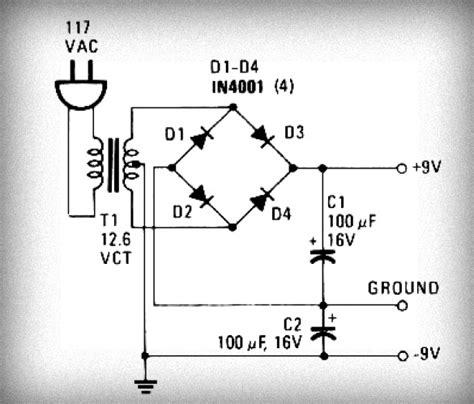 make circuit diagrams simple power supply circuit easy to make circuit diagram