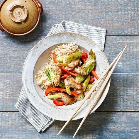 Bok Bell bell pepper bok choy pork stir fry recipe eatingwell