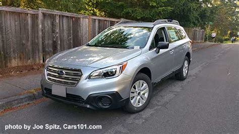 silver subaru outback 2017 2017 outback specs options colors prices photos and more