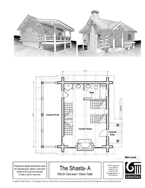 Free Cabin Blueprints Small Cabin Plans Small House Plans Log Cabin Blueprints