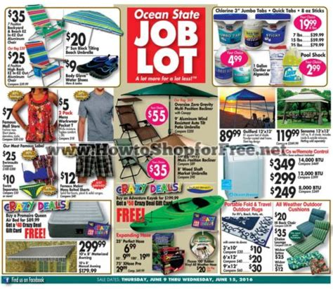 Ocean State Job Lot Crazy Deals Gift Card - osjl ad coupons how to shop for free with kathy spencer