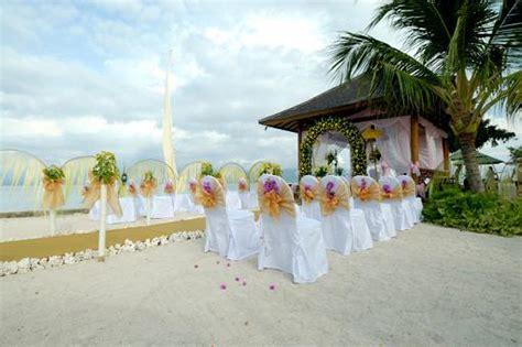 wonderful wedding reception decorations elegant beach