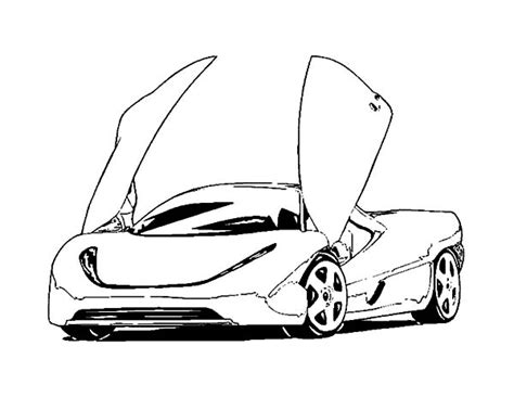 free coloring pages of cool cars bugatti free colouring pages