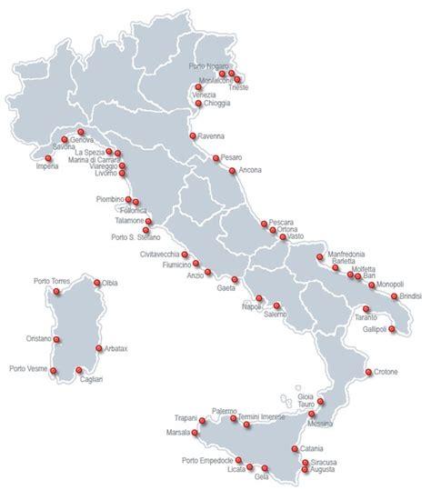 principali porti italiani agenzia marittima