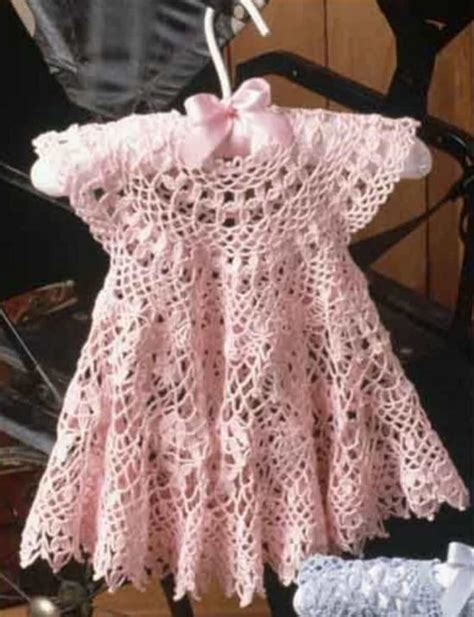 crochet pattern pink girl dress free baby crochet patterns best collection the whoot
