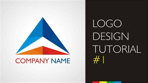 company profile design tutorial logo design tutorials company logo youtube