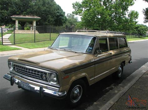 classic jeep wagoneer for sale 1977 jeep wagoneer a classic 401 v8 one owner no