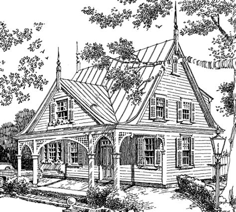 Victorian Cottage House Plans | victorian cottage spitzmiller and norris inc