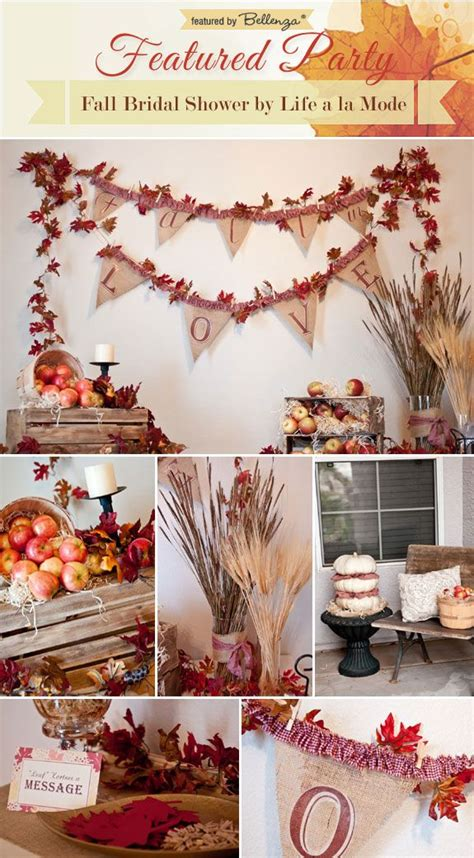 fall bridal shower decorations 1000 ideas about bridal shower fall on bridal