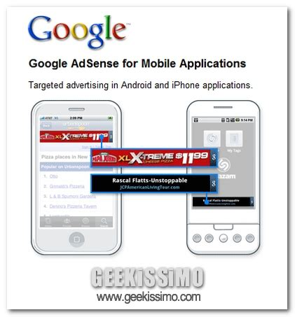 adsense for mobile apps google adsense for mobile applications disponibile in