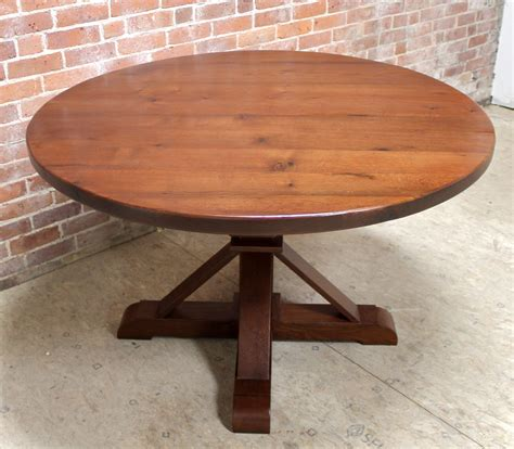 48 inch round table 48 inch round oak table with phoenix pedestal lake and
