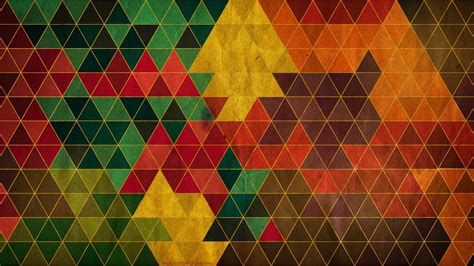 hd color pattern triangle pattern abstract hd wallpaper