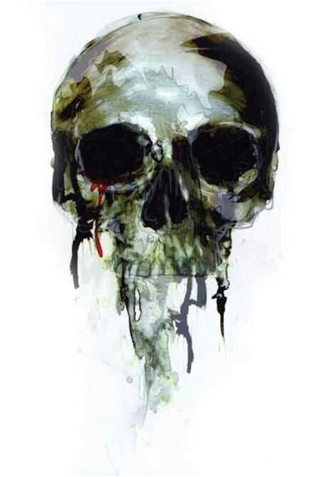 watercolor tattoo skull skull watercolor tattoos watercolors tat