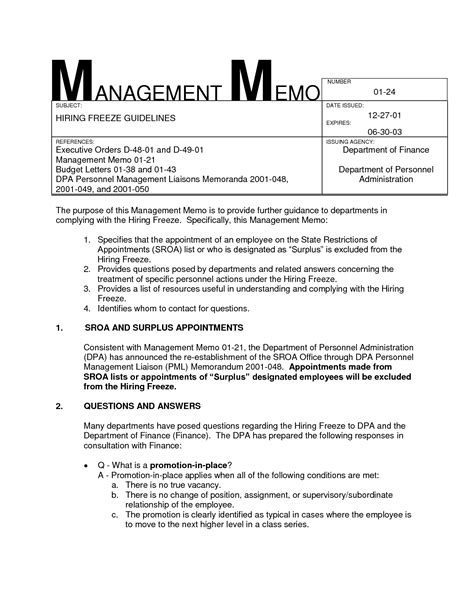Memo Exles To Management Best Photos Of Memo Exles To Management Sle Management Memo Sle Management Memo And