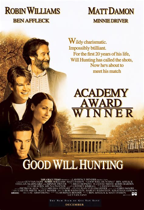 good biography movie good will hunting dvd release date