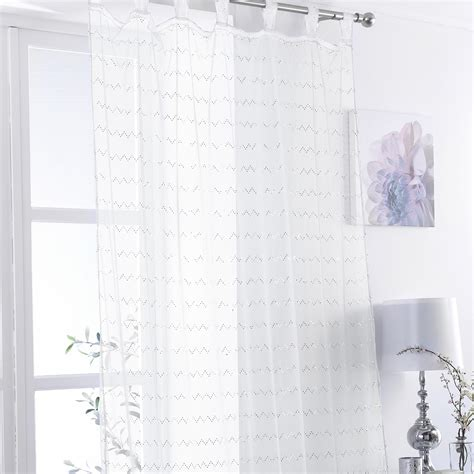 cotton tab top curtains natural white voile curtains tab top curtain menzilperde net