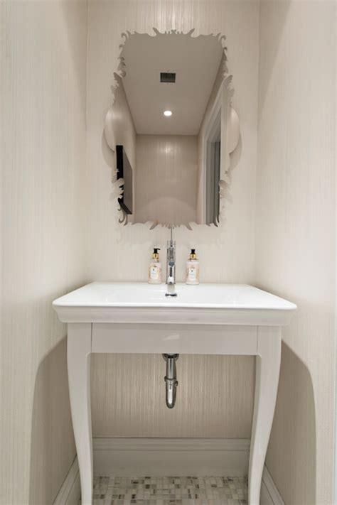powder room pedestal sink powder room sinks transitional bathroom studio m