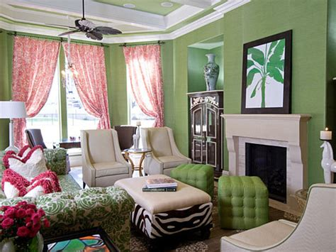 lime green living room shades of green a verdant spring decorating palette