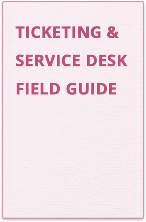 Help Desk Ticketing ticketing service desk guide countersoft