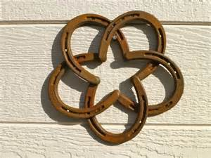 Horseshoe Decorations For Home by Horseshoe Star Wall Hanger Traditional Home Decor