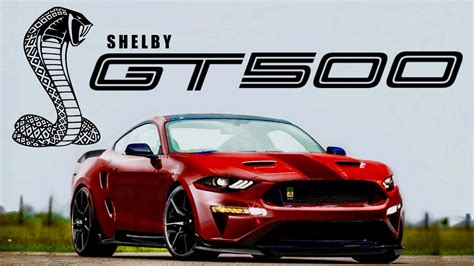 2019 shelby gt500 2019 shelby gt500 out in new photos what we