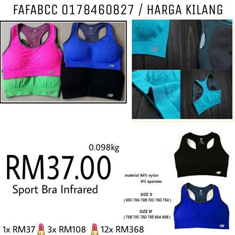 Murah Malaysia jual borong murah malaysia sport bra rm37 00 0178460827