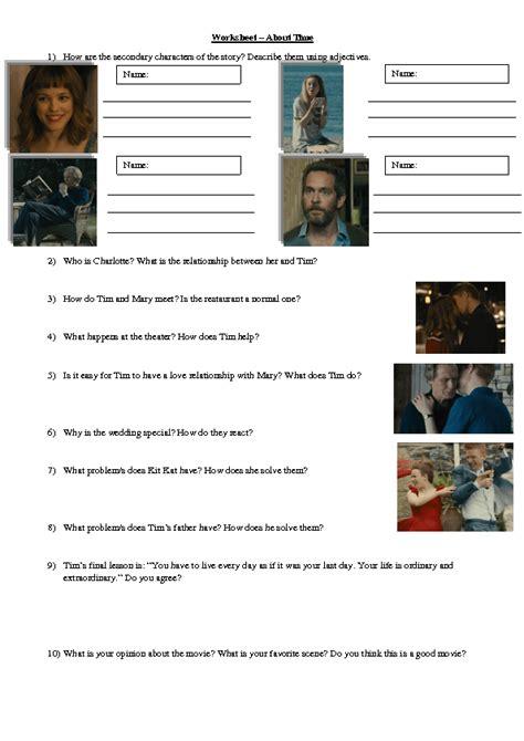 film quiz spreadsheet movie worksheet calleveryonedaveday