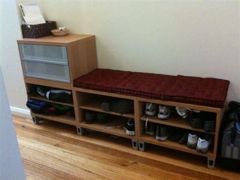 ikea shoe storage bench storage shoe storage bench ikea storage auctions photo