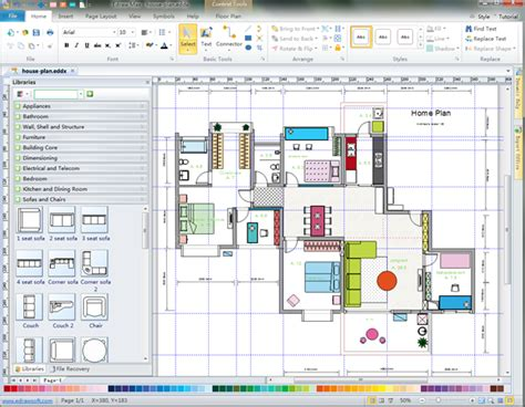 Home Design Layout Software Free house layout designer