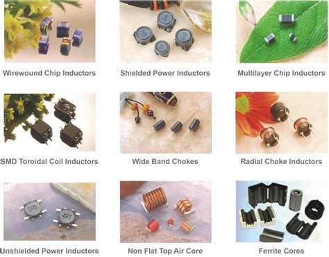types of inductors with images ferrite inductors glocom marketing pte ltd
